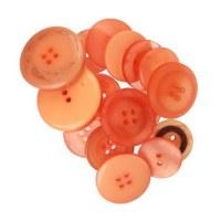 Boutons oranges - Kesi'art