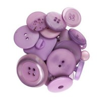 Boutons violet - Kesi'art