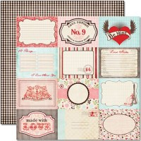 {Cupid}Postcards - Pink paislee