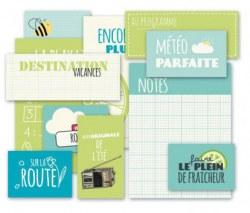 {Route nationale 7}Pochette vignettes vertes - 4h37
