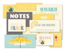 {Route nationale 7}Pochette vignettes jaunes - 4h37