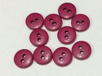 Lot 10 mini boutons FUSHIA 1 cm - Kirecraft