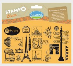 Tampons clear PARIS - Aladine