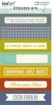Stickies RECHERCHE MAISON n°5 - Kesi'art