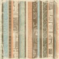 {Grandma's attic}Vintage stripe - Paper company