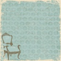 {Grandma's attic}Victorian tapestry - Paper company
