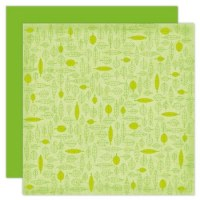 {Woodland}Green leaves - The paper Company