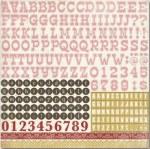 Stickers alphabet BEAUTIFUL MOMENTS - Carta bella