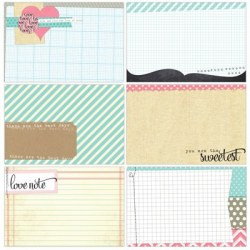 {You and me}Large journaling tags - Elle's studio