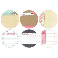 {You and me}Circle tags - Elle's studio