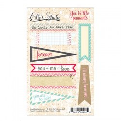 {You and me}Pennants - Elle's studio