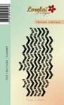 {Summer}Tampon clear TEXTURE CHEVRONS - Lorelaï