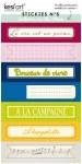 Stickies LE CLOS FLEURI n°5 - Kesi'art