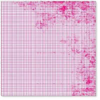 Transparent MINI GRAPH PINK - Hambly