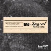 Tampon bois KEEP COOL - Kesi'art