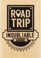 {Capsule août 2016}Tampon bois ROAD TRIP - Florilèges